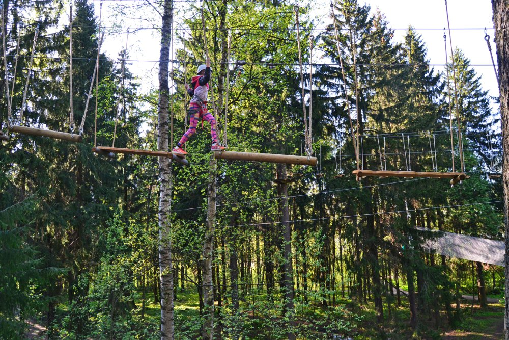 Zippy High Tree Rope Course and Adventure Park, Helsinki | Skafur-Tour